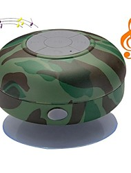 Camuflagem BST-06 portátil à prova d'água do chuveiro Stereo Bluetooth Wireless Mini Speaker com microfone