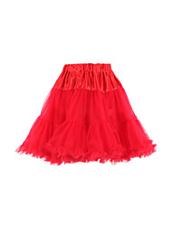 Princess Two Tier Crystal Yarn Petticoat(More Colors)