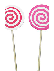 lollypop Flower Girl Banner/Photo Booth Props(More Colors)