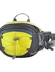 MOUNTAINTOP 8L Terylene Yellow Outdoor Enhanced Breathability Cycling Waist Bag Chest Bag