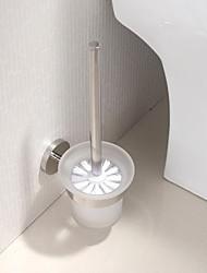 Aço inoxidável polido brilhante Finish WC Escova Titular