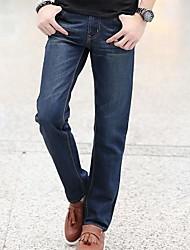 Men's Slim Straight Jeans Pants