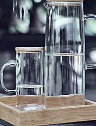 "Pot Water Classic, verre 8 ""x8"" x10 "", Lot de 3"