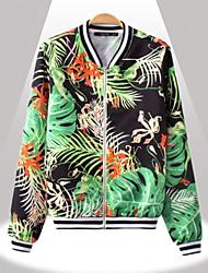 De Yinbo winter vrouwen vintage bloemenprint jas