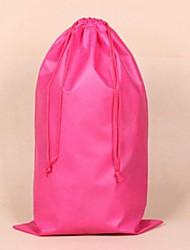 não tecido rosa 10 peças com cordão sacos anti poeira organizados para sapatos, botas, roupa interior
