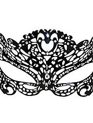 Böse Gift Frauen Style Black Metal Halloween Masquerade Mask