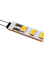 2W G4 LED à Double Broches 6 SMD 5050 80-100 lm Blanc Chaud / Blanc Froid DC 12 V