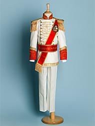 Polyester Costume de Porteur d'Alliance - 5 Pièces Comprend Veste / Chemise / Pantalons / Large Ceinture / Bretelles