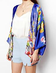 Women's Coats & Jackets , Chiffon Casual Queen&Co