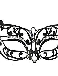 Венеция Принцесса Стиль Black Metal Halloween Masquerade маски