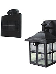 2-LED Super Bright White Solar PIR Motion Sensor Wall Light Garden Lamp