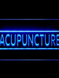 Acupuncture Chinese Method Advertising LED Light Sign