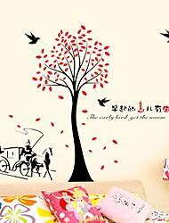 Createforlife® Slogan the Early Bird Get the Worm Kids Nursery Room Wall Sticker Wall Art Decals