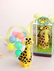 Baby Shower Giraffe Candle
