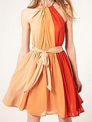 Women's Dresses , Chiffon Casual Kimi