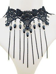 Coolshine Punk Japanese Harajuku Short Necklace-2014-201-LS053