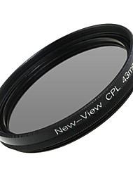 Новый взгляд поляризатор фильтр для камеры (43мм)