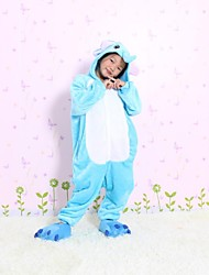 NEW cosplay  Elephant Flannel Toilet version Children Kigurumi Pajama