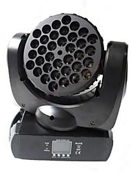 granos de la lámpara Reallink ® rgbw dmx 36 de haz de 15 canales en movimiento ligero de la etapa