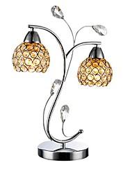Lâmpadas de mesa, 2 Luz, Simple Cristal Artístico MS-86383