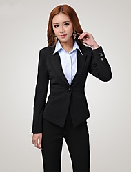 Women's Suits & Blazers , Cotton/Polyester Casual Qiaojiaren