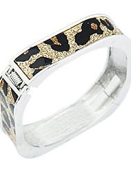 Modello del leopardo del modello del quadrato Bracciale (colori assortiti)