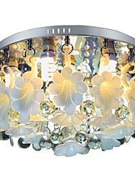 SUNWEIT encastré 5 lumières moderne en cristal entité avec télécommande