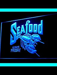 Pesce sempre fresco Pubblicità Light LED Sign
