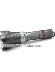 Lights Diving Flashlights/Torch LED 1000 Lumens 5 Mode Cree XM-L T6 18650Adjustable Focus / Waterproof / Rechargeable / Impact Resistant