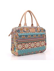 Bohemian Trend Canvas Ladies Women Handbag Laptop  Messenger 13  inch Notebook Computer Bags