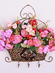 La canne compose Hanging Fer Forgé panier de fleur