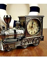 Enkay Vintage-Retro-Spielzeug-Lokomotive Modell für die Dekoration oder Uhr (Radom-Stil)