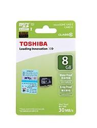 TOSHIBA SD-C08GR7AR30 Micro SDHC Card  (8GB / Class10)