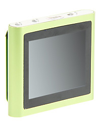 "superior 1,8 ""multi-touch de radio fm pantalla con clip 8gb mp4 (verde)"