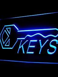 Keys Advertising LED Light Sign