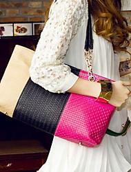 Smiling All Seasons Sugar Color Korean Chain Weave Women's Single-shoulder Handbag
