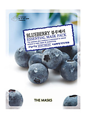 As máscaras BlueBerry EssentialMask Pacote
