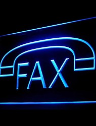 Fax Machine Phone Advertising LED Light Sign