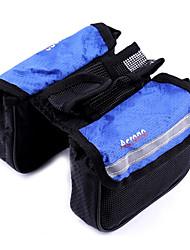 Bike Frame Bag / Cycle Bags Waterproof Cycling/Bike Mesh / 420D Nylon Blue