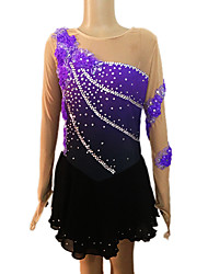 Robe de Patinage Femme / Fille Manches longues Patinage Jupes & Robes Robe de patinage artistiqueRespirable / Faible Frottement / Douceur