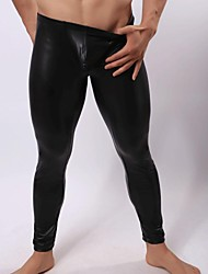 Men's PU/Spandex Long Johns