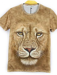 Men's T-Shirts , Cotton Casual LY2013