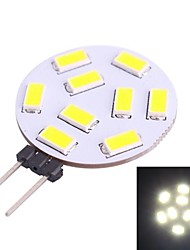 G4 1.2W 350LM 7000K 9x5730 White LED Light Bulb(DC 10-30V)