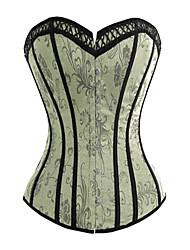 jacquard plastique désossage casual / shapewear occasion de corset spécial (plus de couleurs)