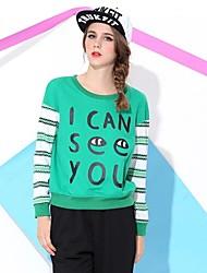 Die Obell women casual Wort Druck gefälschte zwei Stück T-Shirt