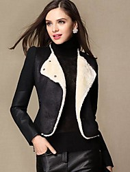 Women's Fashion Short Jacket Wool Coat