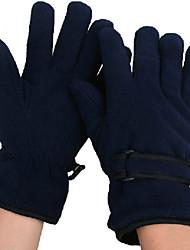 INBIKE polar fleece stof zwart warm-het houden van anti-slip volledige vinger fietsen golves