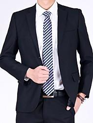 nova cor dos homens de negócios de moda pur formal de duas único terno breasted