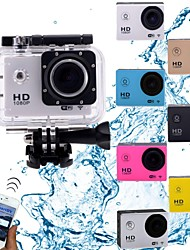 "Wifi HD1080P Mini Action Camcorder 30m Waterproof/5.0 MP CMOS/1.5"" TFT/Li-ion Battery 900mAh"