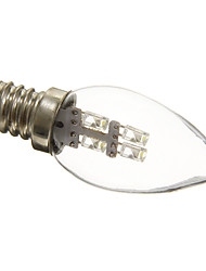 0.5W E12 Ampoules Bougies LED C35 3 15-20 lm Blanc Naturel Décorative AC 100-240 V
